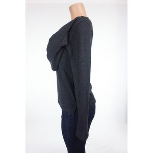 Yohji Yamamoto Sweaters - YOHJI YAMAMOTO Sweater With Attached Scarf